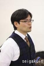 英語担当:上嶋先生