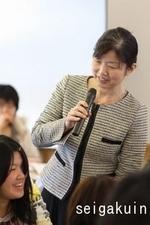 02講演者の水野麻子さん