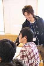07学生スタッフも一緒に参加しました