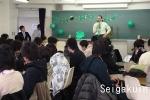 英語で授業